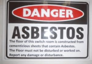 asbestos due diligence