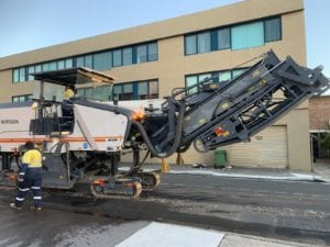 roadway contamination recovery