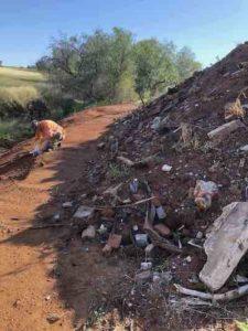 soil stockpile waste