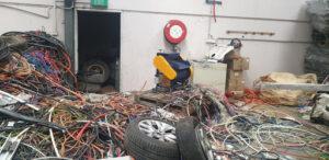 metal recycling facility environmental planning
